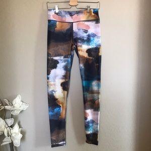 carbon38 printed legging Sz M